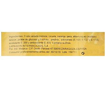 LAPASION Fruta surtida confitada 400 gramos