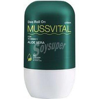 Mussvital Desodorante de aloe vera Pack 2x75 ml