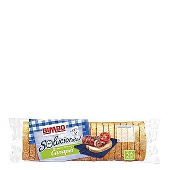 Bimbo Mini rebanadas canapés de pan de molde 250 g