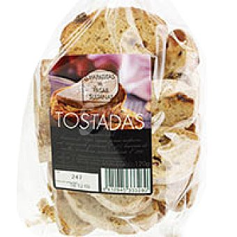 Molinero Tostaditas con pasas Bolsa 120 g
