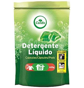 Condis Detergente líquido  20 unidades