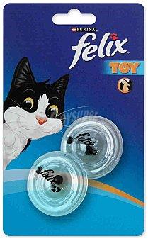 Felix Purina Juguete para gatos Discos Sonajeros 1 ud