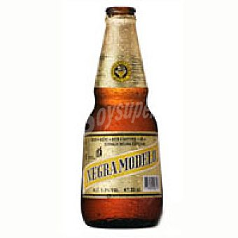 MODELO Cervezan mexicana negra Botellín 33 cl