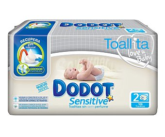 Dodot Toallitas Sensitive Toallitas Sensitive2x54u