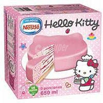Nestlé Tarta Hello Kitty Caja 650 ml
