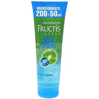 Fructis Garnier Gel efecto mojado fijación fuerte Tubo 200 ml