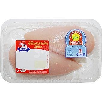 PUJANTE Pechuga de pollo Halal bandeja 500 g Bandeja 500 g