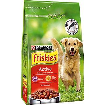 Friskies Purina Alimento perros Digestión + Vitality Paquete 4 kg
