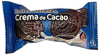 Hacendado Surtido granel galleta rellena cacao 2 unidades de 40 g