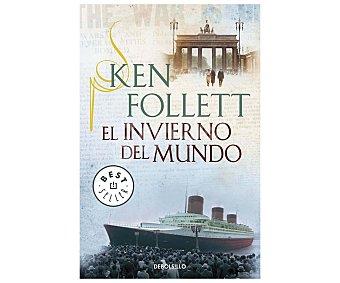 DeBolsillo El Invierno del Mundo, KEN follett, libro de bolsillo. Género: narrativa, Editorial debolsillo