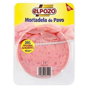 ElPozo Mortadela de pavo Bandeja 250 g