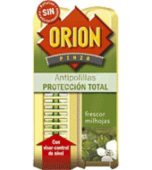 Orion Pinza antipolillas perfume Frescor Milhojas 2 ud