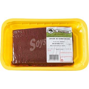 Manzano Sangre de cerdo cocida formato skin peso aproximado Envase 500 g