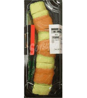 Blue Dragón Roll de salmón Envase de 128 gr