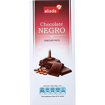 Aliada Chocolate negro Tableta 125 g