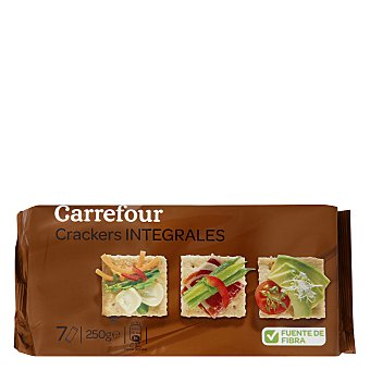 Carrefour Crackers integrales 250 g