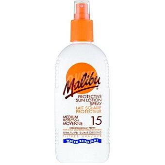Malibu Loción solar FP-15 Spray 200 ml