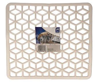 MONDEX Escurreplatos o salvaplatos fabricado en plástico, 31x33 centímetros 1 unidad