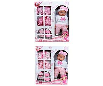 RIK & ROK Muñeco recién nacido, 40 Centímetros 1 Unidad