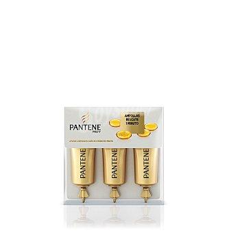 Pantene Pro-v Tratamiento intensivo cabello, ampollas rescate, cabellos teñidos o dañados 15 Mililitros (3 unidades)