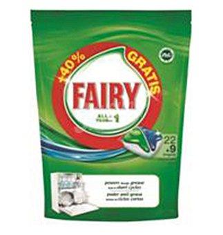 Fairy Lavavajilla todo EN1 22+4 26 dosis