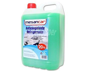 MESANCAR Líquido anticongelante, refrigerante, con temperatura mínima de -9º C 5 litros