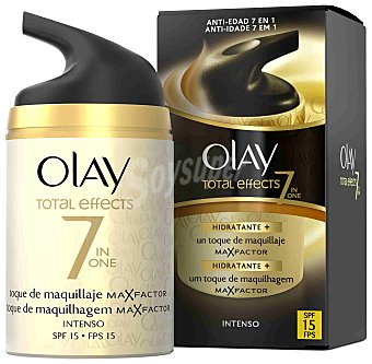 Olay Crema total effects dia toque de maquillaje spf 15 intenso 50 ml