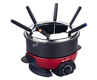 Master Chef Junior Fondue, para 6 personas, potencia 800w, termostato, luz de indicación, asas toque frío