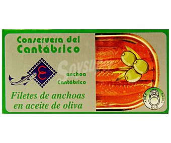 CONSERVERA DEL CANTABRICO Filetes de Anchoas en Aceite de Oliva Lata 47 Gramos