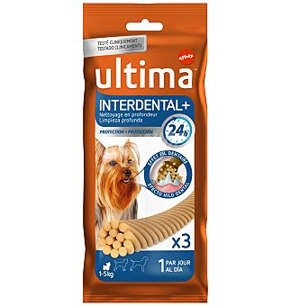 Ultima Affinity Snacks Dog interdental  2 unidades