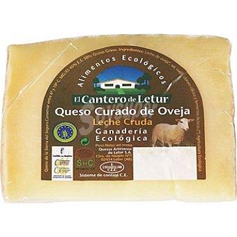 El Cantero de Letur Queso curado de oveja leche cruda  300 g (peso aproximado pieza)