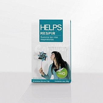 Helps Infusión en bolsitas ecológica Respir 20 ud 20 ud