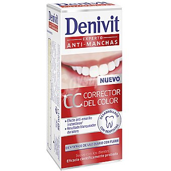 Denivit Pasta dentífrica CC Corrector del color Tubo de 50 ml
