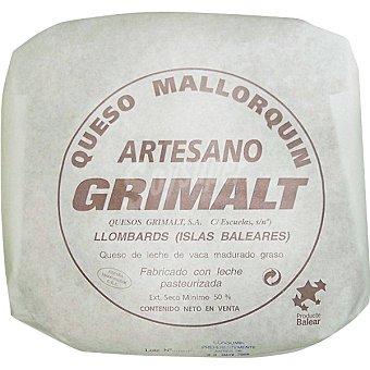Grimalt Queso artesano mallorquin peso aproximado pieza 3 kg 3 kg