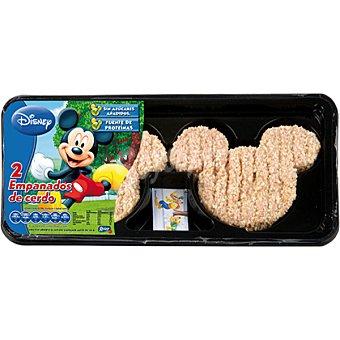 Roler Empanado de cerdo Mickey 2 unidades bandeja 166 g 2 unidades