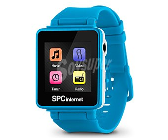SPC INTERNET 8534A Reproductor MP4 4GB con pinza y funda muñequera