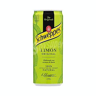 Schweppes Refresco de limón Lata de 33 cl