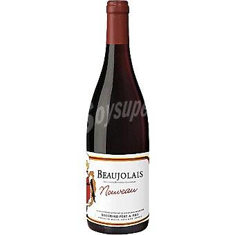 BOUCHARD Vino tinto Noveau Beaujolais Francia Botella 75 cl