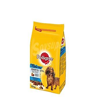 Pedigree Pienso para perros sabor Ave, Arroz y Verduras 1,5 kg