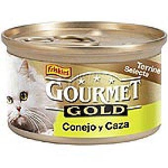 Purina Gourmet Conejo y caza Gold Lata 85 g