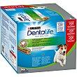 Snacks dental para perro pequeño Multipack 54 unidades Purina Dentalife