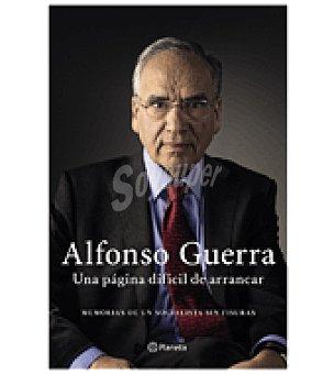 Alfonso Una página difícil de arrancar ( Guerra)