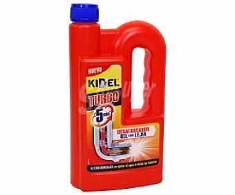 Kidel Desatascador gel Botella 1 litro
