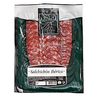 Azuaga Lonchas Salchichón Ibérico 100 g