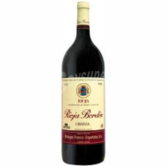 Bordón Vino Tinto Crianza Rioja Botella 1,5 litros