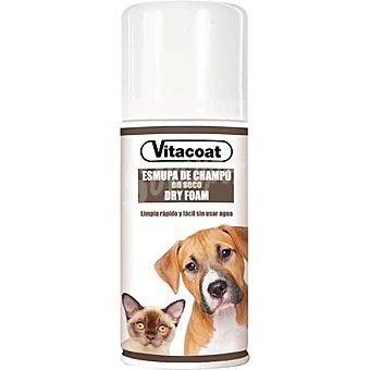 VITACOAT Champú seco en espuma para perros y gatos Envase 150 ml
