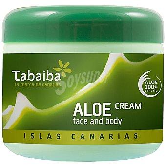 TABAIBA Aloe vera crema corporal y facial Tarro 300 ml