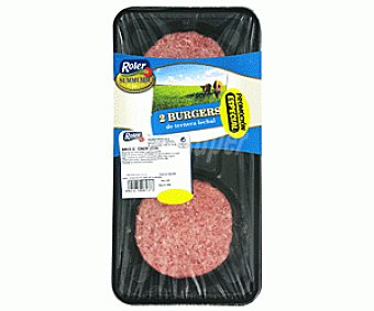 Summumm de Roler Burger meat de ternera lechal Bandeja de 200 gramos