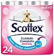 Papel higiénico original Paquete 24 uds Scottex
