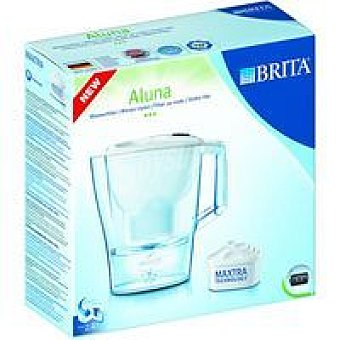 Brita Jarra filtrante Aluna Frosted blanca Pack 1 unid